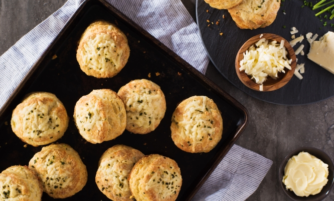 Herb Cheese Biscuits